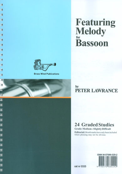 Featuring Melody for Bassoon