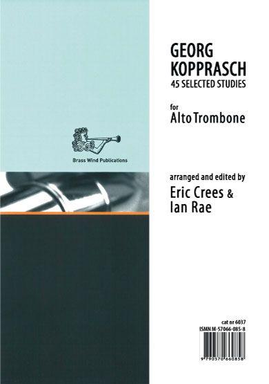 Kopprasch Studies for Alto Trombone