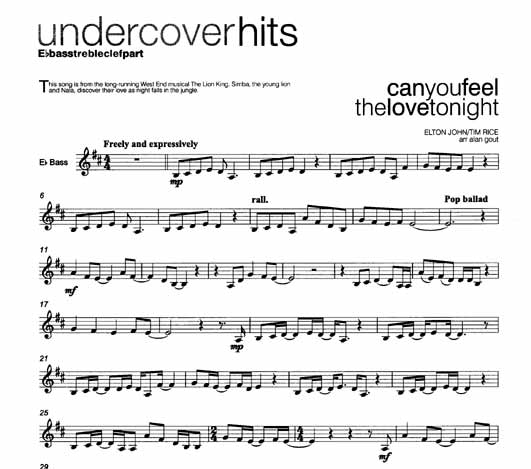 Undercover Hits For TubaTC