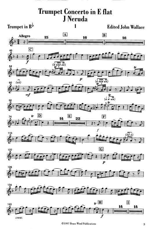 Neruda Trumpet Concerto pf red